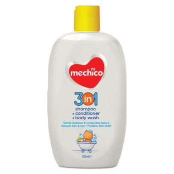 Mechico Baby Shower Gel 3in1 200ML
