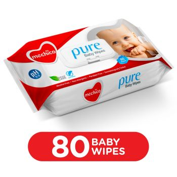 Mechico Baby Wipes (Large) 80Pcs