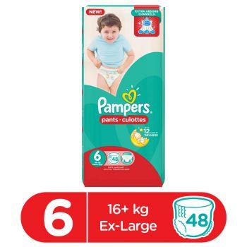 Pampers Pants Mega Pack Size 6 48Pcs