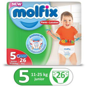 Molfix Pants Twin 26Pcs Junior Size 5