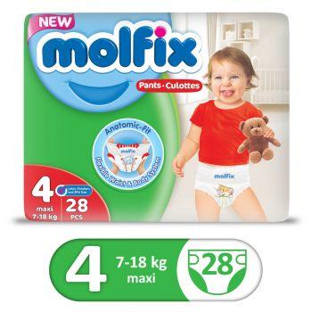 Molfix Pants Twin 28Pcs Maxi Size 4