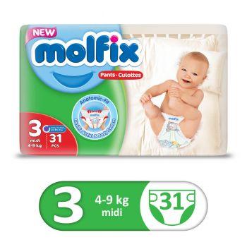 Molfix Pants Twin 31Pcs Midi Size 3