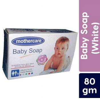 MotherCare Baby Soap White Regular 80gms