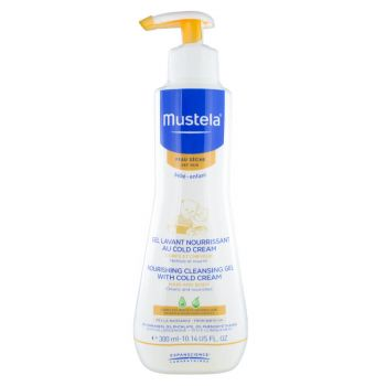 Mustela Nourishing Cleansing Gel 300ML with Cold Cream
