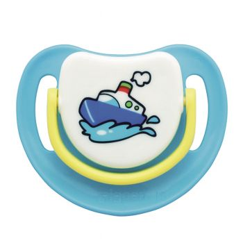 Pigeon Silicone Pacifier Step 2 (Blue) (N13680)
