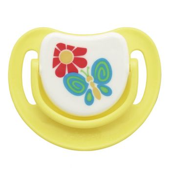 Pigeon Silicone Pacifier Step 2 (Yellow) (N13683)