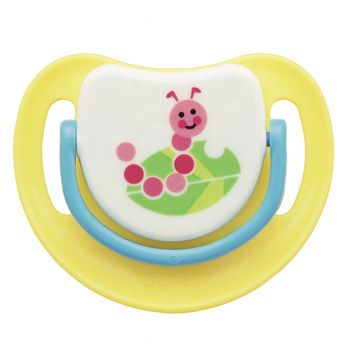 Pigeon Silicone Pacifier Step 3 (Yellow) (N13684)