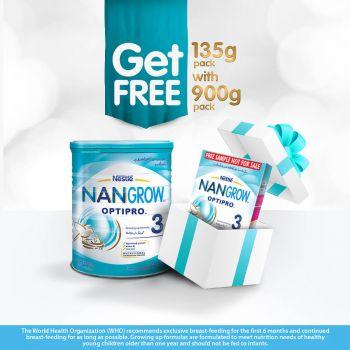 Nestle NANGROW NAN 3 900gms Growing-up Milk (FREE 135gms)