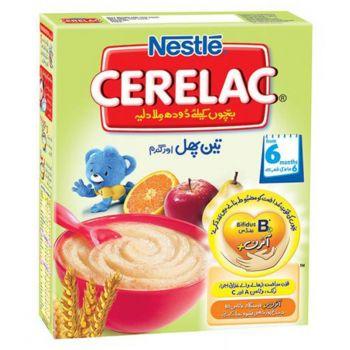 Nestle CERELAC (3 FRUITS) 350gms