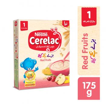 Nestle CERELAC (RED FRUITS) 175gms