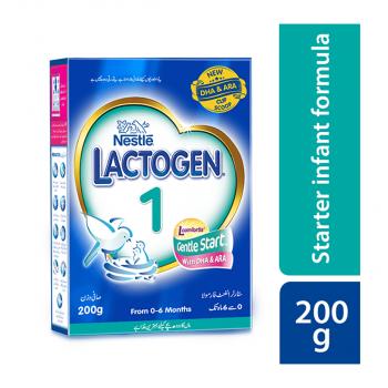 Nestle LACTOGEN 1 - 200gms BIB Starter Infant Formula