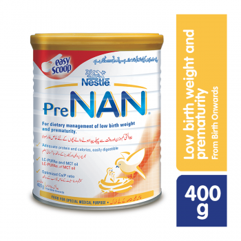 Nestle NANGROW PreNAN 400gms Powder Milk Tin Pack