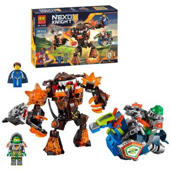 Bela Nexo Knights Infernox Captures the Queen Building Blocks Bela 10482 (PX-10522)