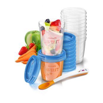 Philips Avent Food Storage Set - Toddler 10x SCF721/20