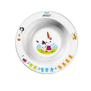 Philips Avent Toddler Bowl Small 6m+ Neutral SCF706/00