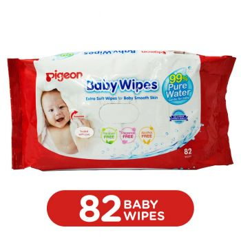 Pigeon Baby Wipes 82 Sheets Refill (P168)
