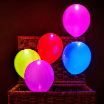 Planet X 5 Led Balloons (PX-9264)
