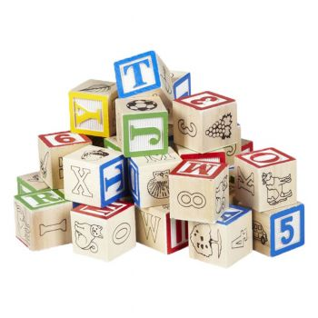 Planet X Abc Wood Blocks Small (PO-9009)