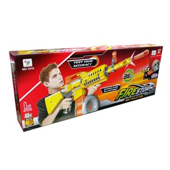 Fire Storm Blaster Soft Bullet Nerf Gun With Magazine Rounds (PX-10285)