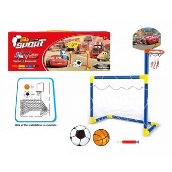 Planet X Cars Soccer &Amp; Basketball Set (PX-9634)
