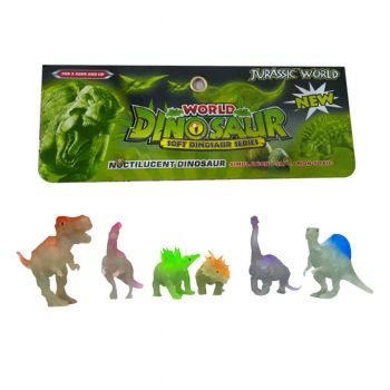 Planet X Dinosaur World Glow In The Dark (PX-10316)