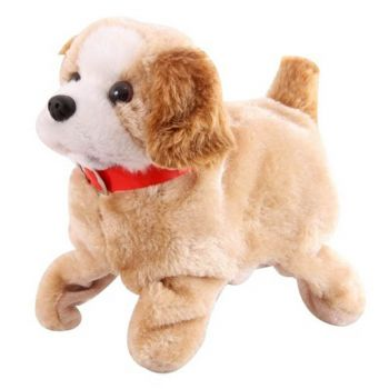 Planet X Fantastic Jumping Soft Puppy Dog Toy With Sound (PX-10357)