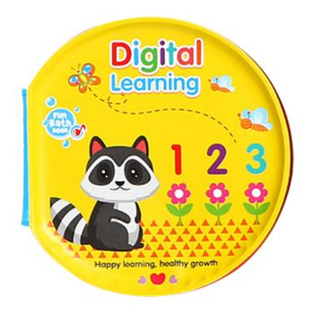 Planet X Learning Numbers Baby Bath Book (PX-10284)