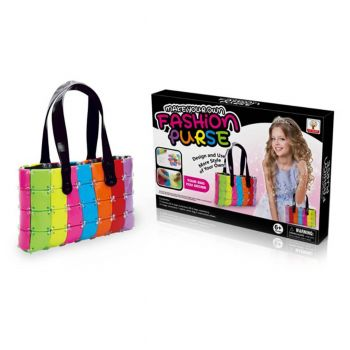 Planet X Make Your Own Fashion Purse For Girls (PX-10512)