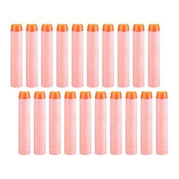 Planet X Nerf Soft Orange Foam Bullets 20Pcs (PX-10429)