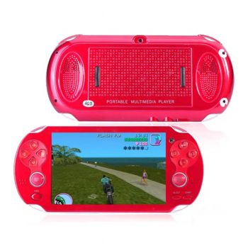 Planet X PSP Vita 4GB With Camera Analog Red (PX-9880)