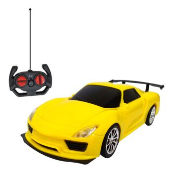 Planet X Remote Control Racer Model 4 Channel Yellow (PX-9915)