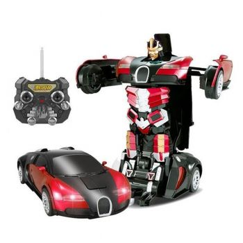 Planet X Remote Control Transformer Bugatti Red Large (PX-9087)
