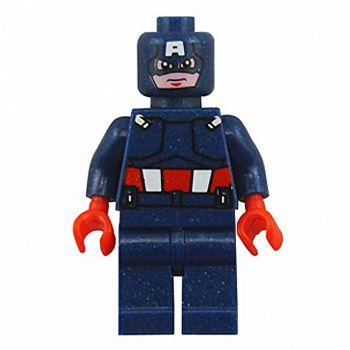 Planet X Super Hero Lego Captain America (PX-9197)