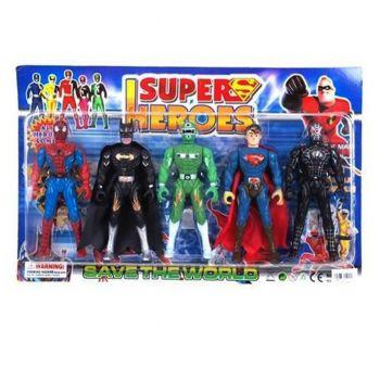 Planet X Super Heroes Action Figures (PX-9786)