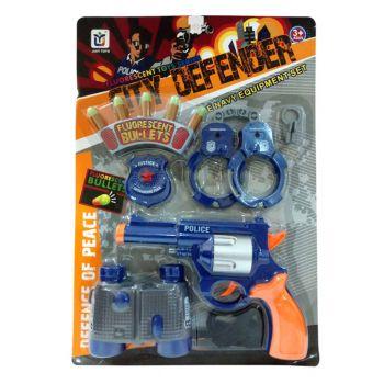 Planet X Super Police Cop Equipments Set (PX-9713)