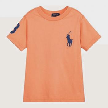 Polo Ralph LaurenPolo Cotton Tee - Orange