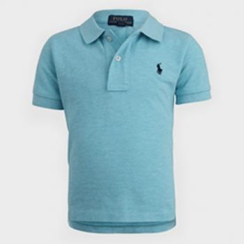Polo Ralph Lauren Polo Shirt Lightweight - Light Blue