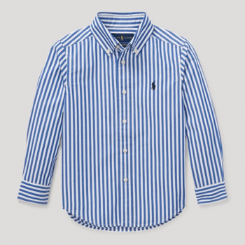 Polo Ralph LaurenStriped Cotton Poplin Shirt