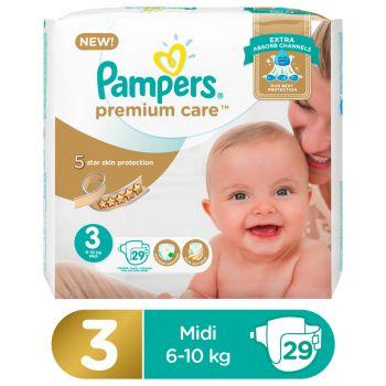 Pampers Premium Care VP Midi S3 PIPO 29Pcs