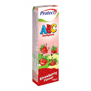 Protect-ABC Strawberry Toothpaste 60gms (0102)