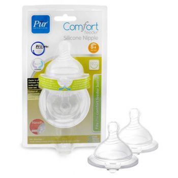 Pur Premium Standard Silicone Nipple Small Pack2 (1611)