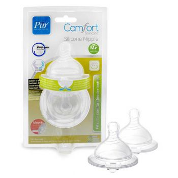 Pur Teat Comfort Feeder Small Pack2 (1311)
