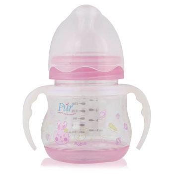 Pur Wide Neck Bottle With Handle 150ML 5oz (1112)