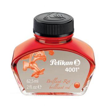 Pelikan Fountain Pen Ink 62.5ML Red (4001)