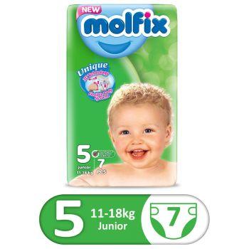 Molfix 3D Small Pack 7Pcs Junior Size 5