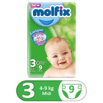 Molfix 3D Small Midi Size 3 9Pcs