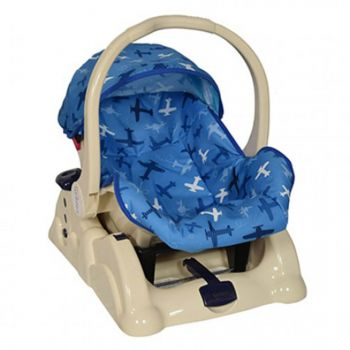 Tinnies Baby Carry Cot With Rocking Blue (T003)