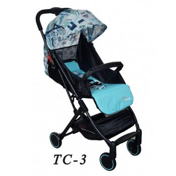 Tinnies Baby Stroller (TC-3)- Blue