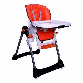 Tinnies Baby Adjustable High Chair (BG-89) - Orange