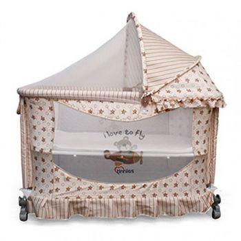 Tinnies Baby Crib Beige (Y541)